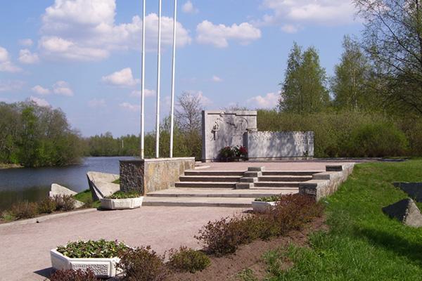 Памятник защитникам Сестрорецка 1941-1945г