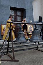 Освящение колоколов для храма 7 ноября 2015 г
