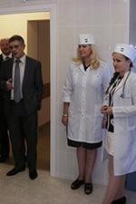 Открытие амбулатории в поселке Молодежное