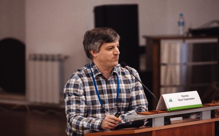 Олег Сергеевич Глотов, начальник сектора, биолог, к.б.н.