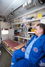 Оснащение машины скорой помощи